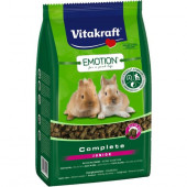 Vitakraft Emotion Complete Junior Храна за млади декоративни мини зайчета 800гр.