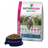 Eukanuba Natureplus Grain FREE Puppy & Junior Salmon - храна без зърнени култури, за кучета от 0 до 12 м.