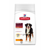 Hill's Science Plan Canine Adult  Advance Fitness Large Breed Chicken -18кг + Контейнер FREE