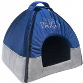 Луксозна къщичка Cazo Pet House Paris Navy Blue