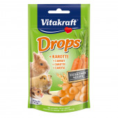 Vitakraft - Drops - бонбони с моркови 75 гр.