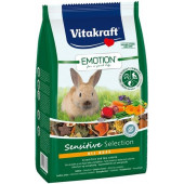 Vitakraft Emotion Sensitive All Ages Храна за декоративни мини зайчета 600гр.