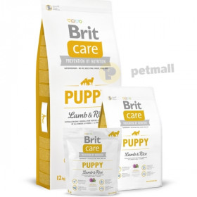 Суха храна за куче Brit Care Puppy Lamb & Rice All Breed