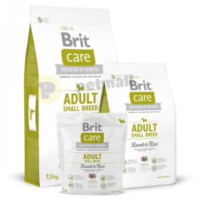 Суха храна за куче Brit Care Adult Small Breed Lamb & Rice