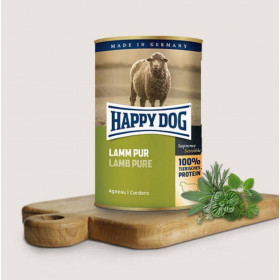 Консервирана храна за кучета Happy Dog Lamm Pur 100% агнешко