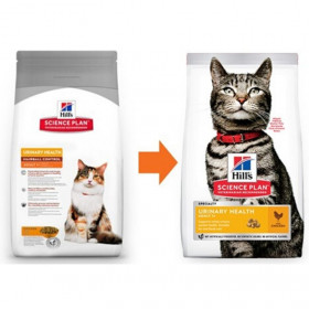 Суха храна за котка Hills Science Plan Cat Adult Urinary & Hairball